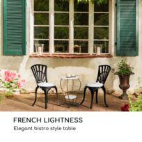Table jardin marbre - catalogue 2019 - [RueDuCommerce - Carrefour]