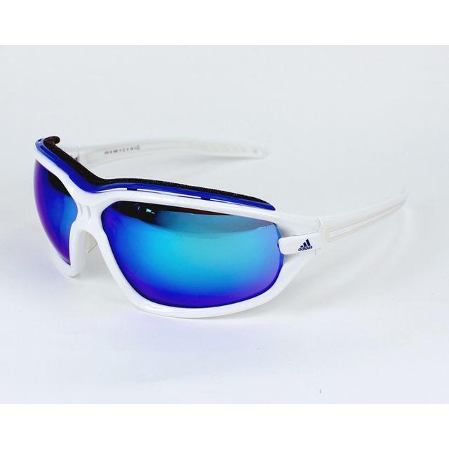 Adidas - Evil Eye Evo Pro L A-193 6052 Blanc glacé - Bleu - Lunettes de  soleil - pas cher Achat   Vente Lunettes Tendance - RueDuCommerce 8b3280cdbff0