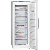 SIEMENS - congélateur armoire 70cm 360l nofrost a++ blanc - gs58naw30