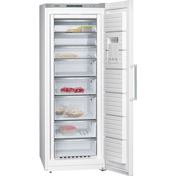 SIEMENS congélateur armoire 70cm 360l nofrost a++ blanc - gs58naw30
