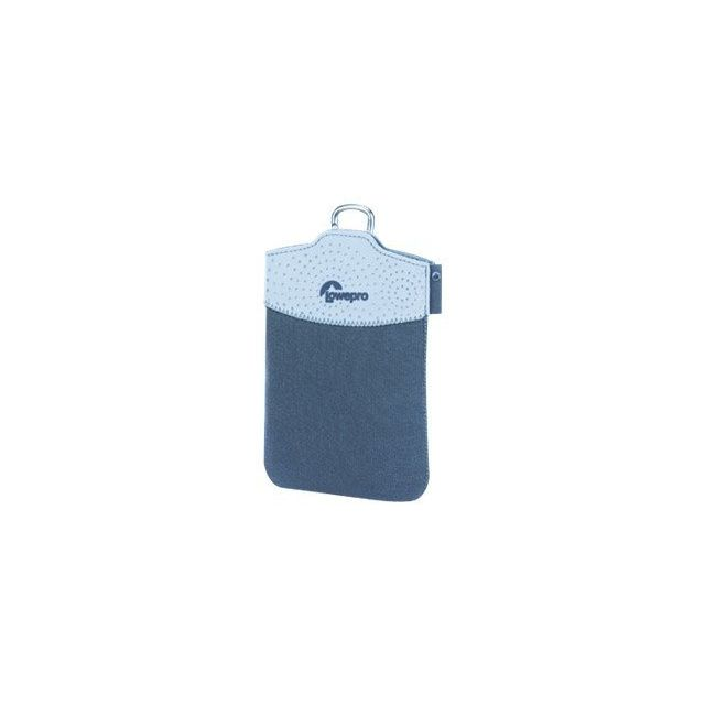 d130b1646b6b Lowepro - Tasca 30 - Beutel für Mobiltelefon / Player / Kamera - Neopren -  Glacier Blue, Arctic - für Ge E1035, E1235, Leica D-lux 4, Mustek Mdc 6500,  ...
