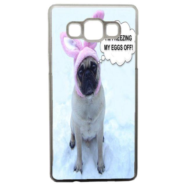 Lapinette - Coque Rigide Humour Chien Carlin Pour Samsung Galaxy A5
