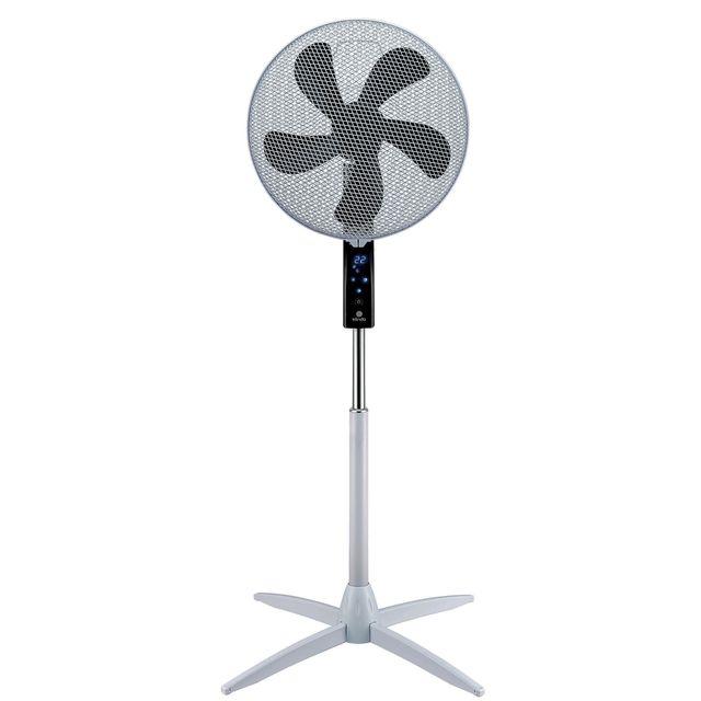 klindo ventilateur sur pied programmable ksf750tc 17. Black Bedroom Furniture Sets. Home Design Ideas