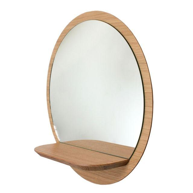 Reine MÈRE Miroir 40 cm avec tablette Sunrise