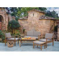 mobilier jardin bois - Achat mobilier jardin bois pas cher - Rue ...