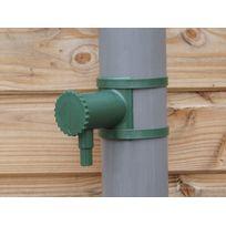 Nortene - Connecteur de récupérateur d'eau de pluie pour gouttière 80 à 100 mm