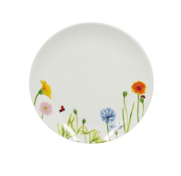 Lebrun Assiette plate 20 cm Floralies