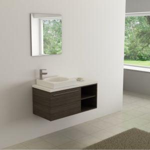 casa baoli ensemble meuble salle de bains city 100 cm pas cher achat vente meubles de. Black Bedroom Furniture Sets. Home Design Ideas