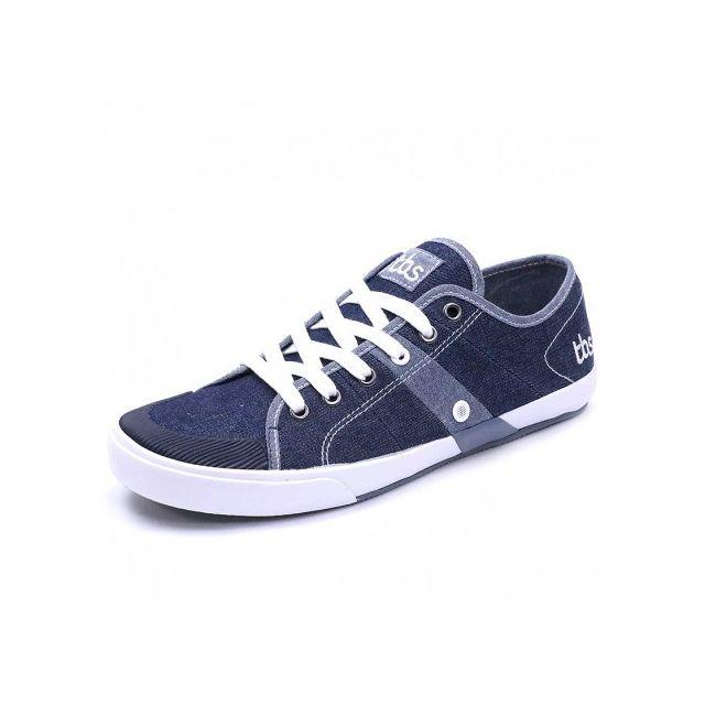 da437eb9d77cb Tbs - Chaussures Henley Marine Homme - pas cher Achat   Vente Baskets homme  - RueDuCommerce