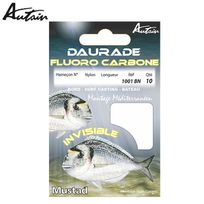 Autain - Carnet D'HAMEÇONS MontÉS Special Daurade Fluoro