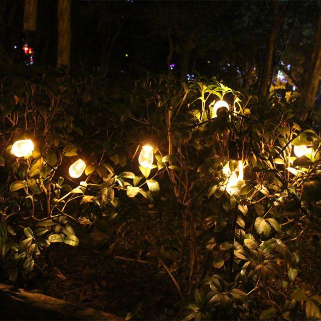 GÉNÉRIQUE Ampoule solaire chaîne ampoule jardin chemin jardin décoration lampe maison extérieur 12 Led