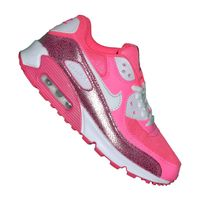 Nike - Basket - Femme - Air Max 90 Essential 125 - Rose Blanc