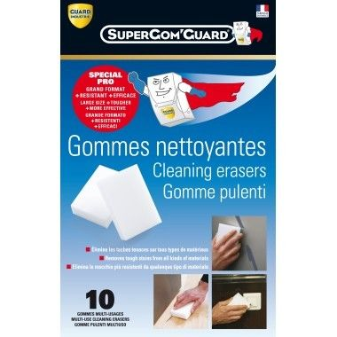 Guard Industrie - Eponge gomme magique - Super'Gom Guard
