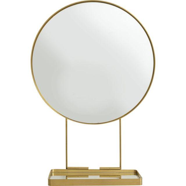 Karedesign Miroir avec tablette Art 60cm Kare Design