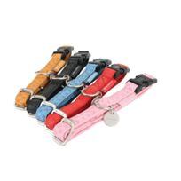 Zolux - Collier Pour Chien Reglable Mac Leather Jaune Taille 15 mm