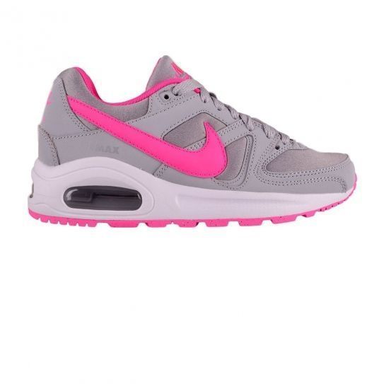 Nike Chaussures Air Max Command Flex WolfGreyPink Jr h16