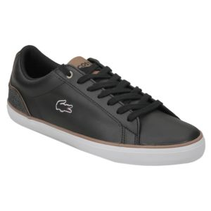 Lacoste Lerond 317 1 Cam Noir - Chaussures Baskets basses Homme