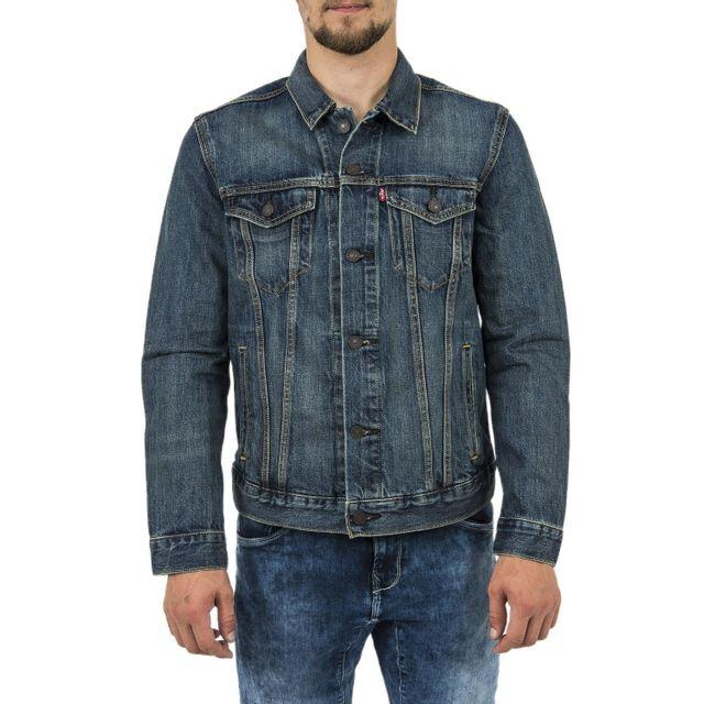 LEVIS - blousons et vestes the trucker jacket charlie 01 360 non définie - pas  cher Achat   Vente Blouson homme - RueDuCommerce 04f814e20385