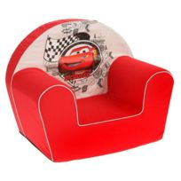Nicotoy - Cars Fauteuil Mcqueen Rouge