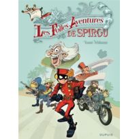 Dupuis - les aventures de Spirou et Fantasio Hors-serie tome 5 ; les folles aventures de Spirou et Fantasio