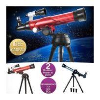 Akor - Télescope 3 oculaires avec objectif 75 mm