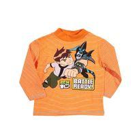Ben 10 - T-shirt sous pull manches longues T 6 ans orange