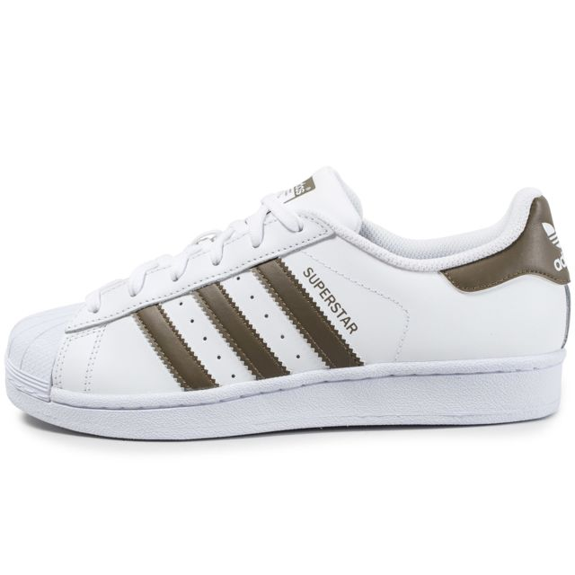 Adidas originals - Superstar Blanche Et Olive