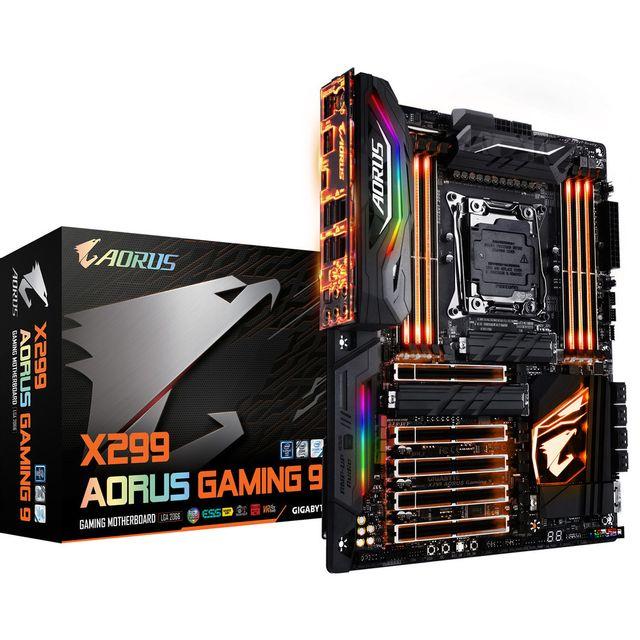 GIGABYTE Carte mère X299 AORUS Gaming 9 - LGA 2066