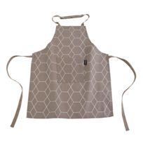 Ziczac - Tablier enfant 100% coton motif géométrique Hexagone