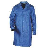 Sacla - Blouse de travail 100% coton bleu bugatti Xl