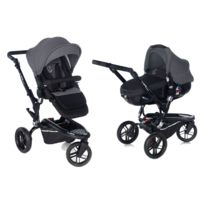 Jané - Poussette duo Trider & Matrix Light 2 - Jet Black