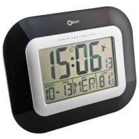 Orium - Pendule grand chiffre date/température