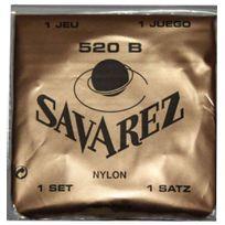 Savarez - 520B - Jeu de cordes guitare classique - tirant faible