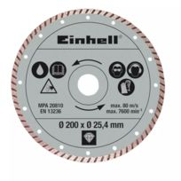 Einhell - Disque coupe turbo 200 x 25,4 mm Rt-tc 520 U et Te-tc 620 U