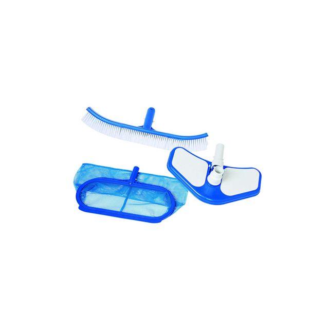 Intex kit de nettoyage pour piscine deluxe pas cher achat vente accessoires piscines hors - Nettoyage piscine hors sol intex ...