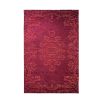 homense tapis entree salon couloir classique a motif reversible rouge cana 155x230 cm - Tapis De Couloir