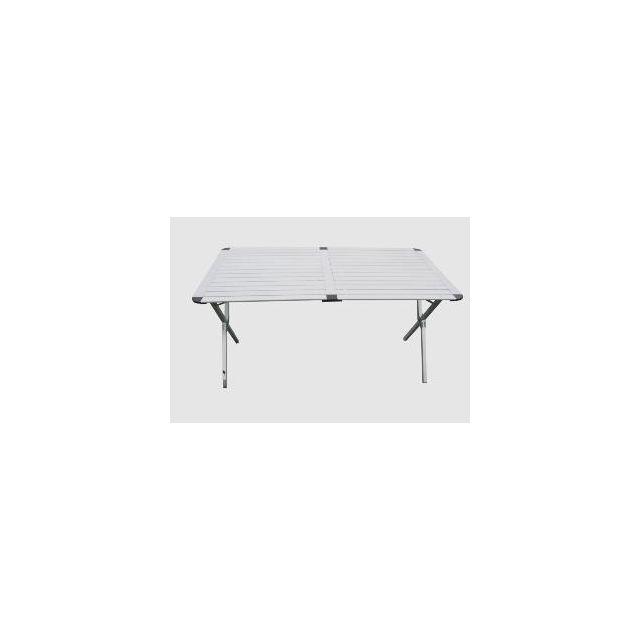 Antarion Table De Camping Pliante En Aluminium De 140cm Pas Cher