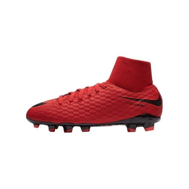 sale retailer 005c9 197c1 Nike - Jr Hypervenom Phelon Iii Df Fg Rouge - pas cher Achat  Vente Chaussures  foot - RueDuCommerce