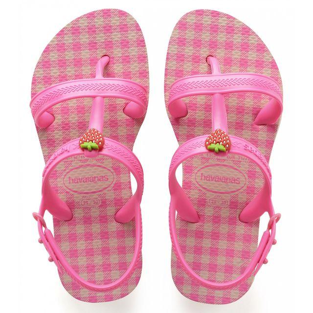 havaianas tong fille vichy rose pas cher achat vente sandales et tongs enfant rueducommerce. Black Bedroom Furniture Sets. Home Design Ideas