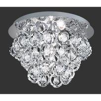 France Luminaires - Plafonnier Victoria Chrome - Trio Lighting