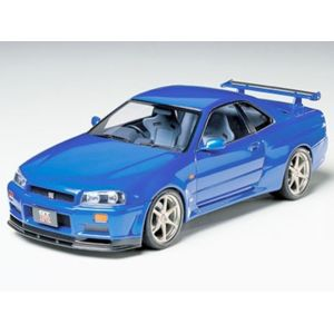 tamiya nissan skyline gtr r34 1 24 pas cher achat vente voitures rueducommerce. Black Bedroom Furniture Sets. Home Design Ideas