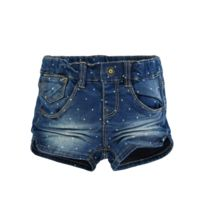 Name It - Short Anja Mini Denim Slim Medium Blue Denim Couleur Bleu Taille 12/18 mois