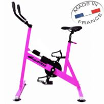 AQUANESS - vélo aquatique de piscine rose - v2 rose