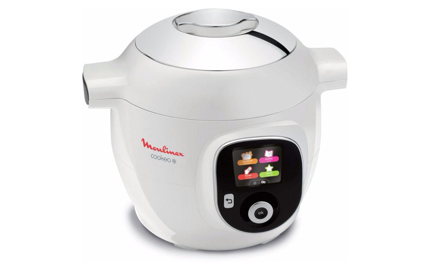 Multicuiseur Cookéo+ 150 recettes - CE851100 - Blanc