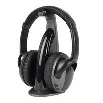 R-music - Rm309217 - Casque Tv sans fil Bluetooth - Noir