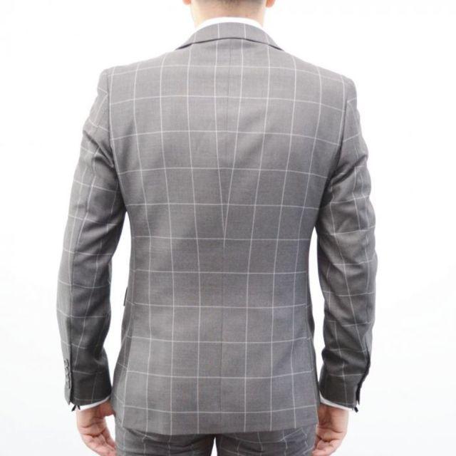 Prestige Man - Costume homme à carreaux prince de galle - pas cher ... f7f6394937c