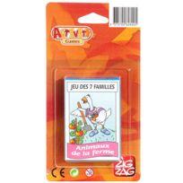 KimPlay - zig zag jeux action - Jeu de cartes 7 familles
