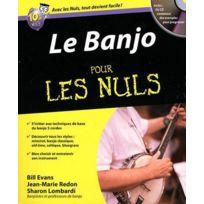First Interactive - Méthodes Et Pédagogie Evans B Le Banjo Pour Les Nuls Autres Cordes Pincées