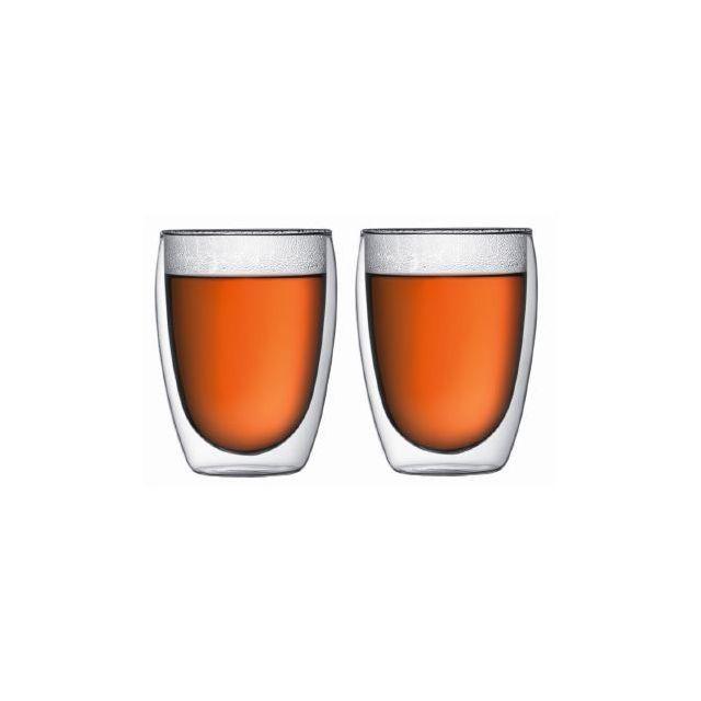 BODUM PAVINA Set 2 verres, double paroi, 0.35 l