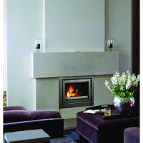 Termofoc - Insert à bois 7 à 9 kw pour surface 90 m2 avec ensemble cadre - C110